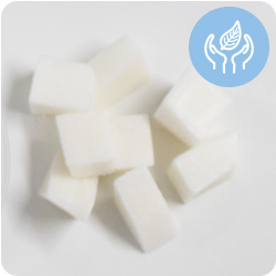 Base de jabón de glicerina opaca blanca