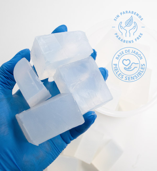 Base de glicerina para pieles sensibles