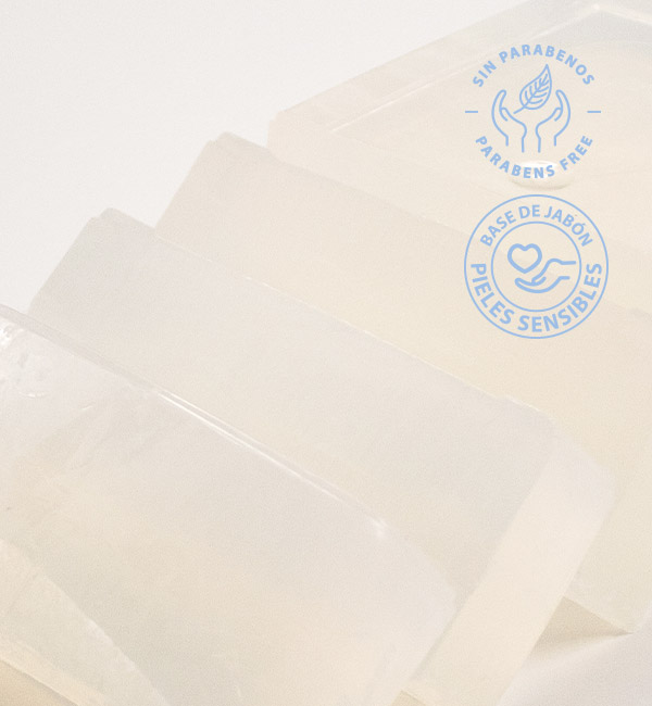 Base de jabón de glicerina para