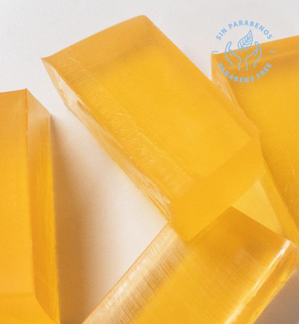 Base de jabón de glicerina cristal para hacer jabones