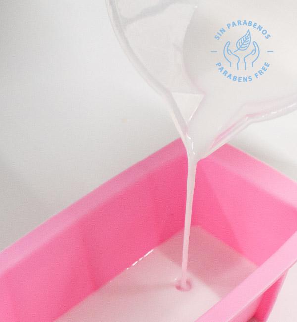 Base de jabón de glicerina opaca para hacer jabones