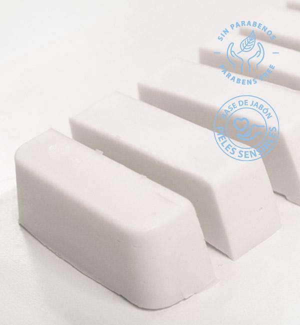 Base de jabón de glicerina para pieles sensibles